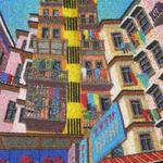 WANCHAI, HONG KONG 16X20 BEADS  $650